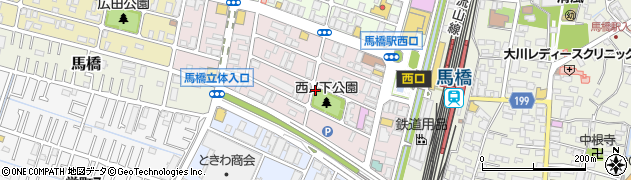 千葉県松戸市西馬橋幸町周辺の地図