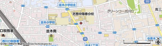 埼玉県川口市並木1丁目26-62周辺の地図
