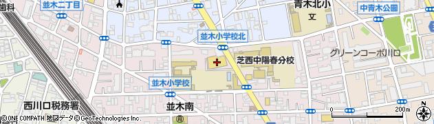 埼玉県川口市並木1丁目25-26周辺の地図