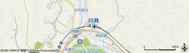 東京都西多摩郡奥多摩町周辺の地図