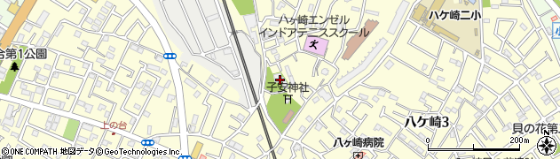 長聖寺周辺の地図