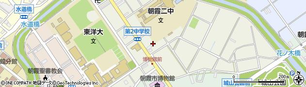 埼玉県朝霞市岡周辺の地図