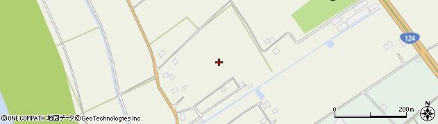 茨城県神栖市太田周辺の地図