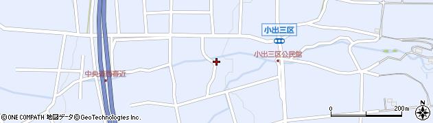 長野県伊那市西春近(小出三区)周辺の地図