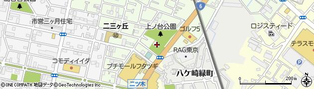 蘇羽鷹神社周辺の地図