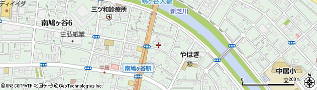 埼玉県川口市南鳩ヶ谷周辺の地図