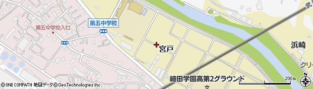 埼玉県朝霞市宮戸周辺の地図