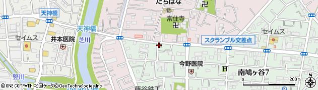 鳩ヶ谷辻郵便局周辺の地図