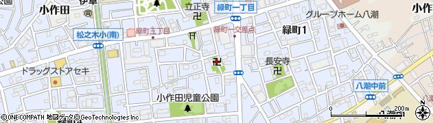 不動堂周辺の地図