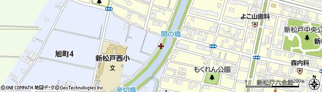 千葉県松戸市大谷口新田周辺の地図