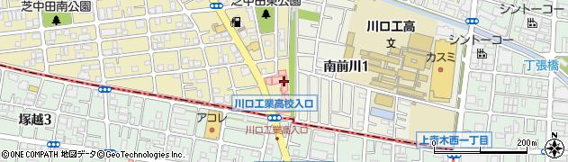 埼玉県川口市芝中田2丁目48-6周辺の地図
