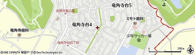 千葉県栄町(印旛郡)竜角寺台周辺の地図
