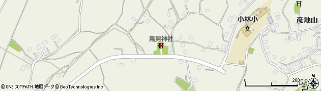 鳥見神社周辺の地図