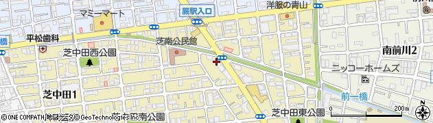埼玉県川口市芝中田2丁目21-17周辺の地図