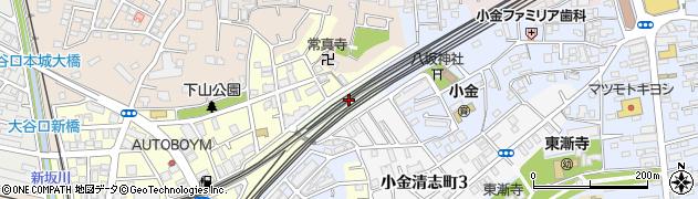 千葉県松戸市上総内周辺の地図