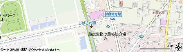 埼玉県三郷市彦沢周辺の地図