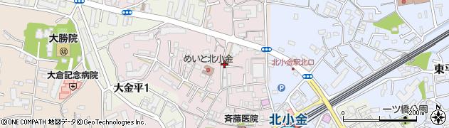 千葉県松戸市殿平賀周辺の地図