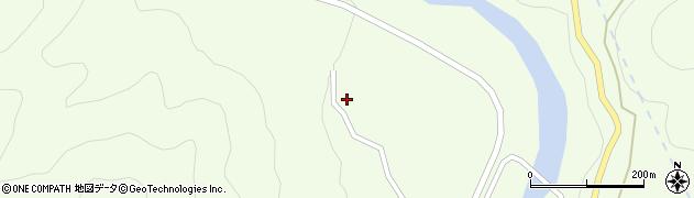 長野県木曽郡木曽町三岳小島周辺の地図