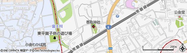 前ケ崎香取神社周辺の地図