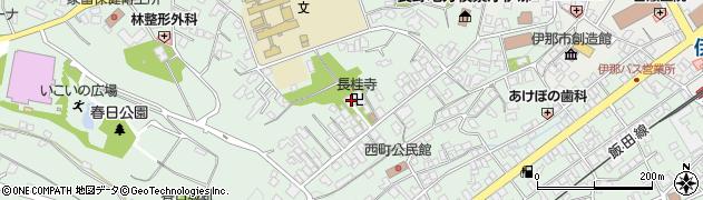 長桂寺周辺の地図