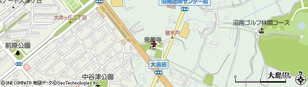 泉蔵寺周辺の地図