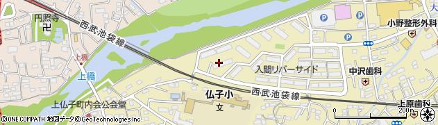 入間リバーサイド周辺の地図