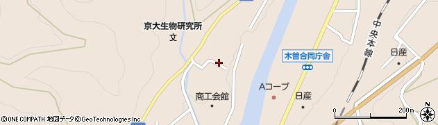 長野県木曽郡木曽町福島児野周辺の地図