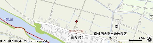 千葉県栄町(印旛郡)南周辺の地図