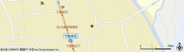 山梨県北杜市白州町下教来石周辺の地図