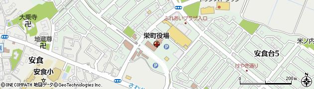 千葉県栄町(印旛郡)周辺の地図