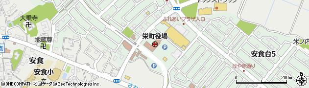千葉県印旛郡栄町周辺の地図