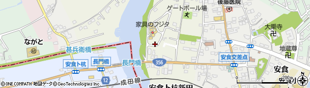 千葉県栄町(印旛郡)安食卜杭新田周辺の地図