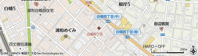 武蔵浦和パークホームズ周辺の地図