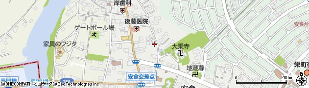 千葉県栄町(印旛郡)安食周辺の地図