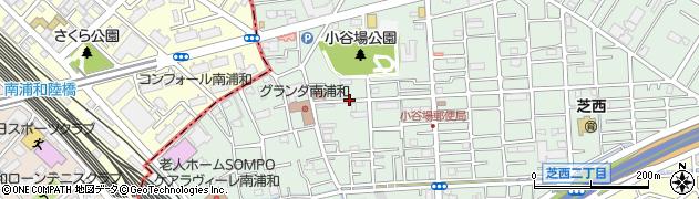 埼玉県川口市小谷場周辺の地図