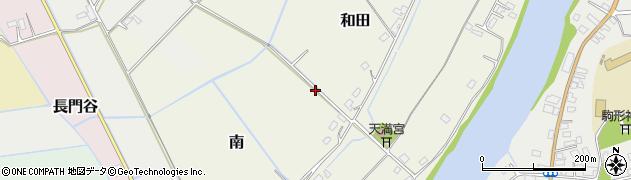 千葉県栄町(印旛郡)和田周辺の地図