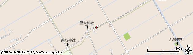 千葉県栄町(印旛郡)請方周辺の地図