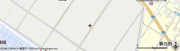 千葉県我孫子市相島周辺の地図