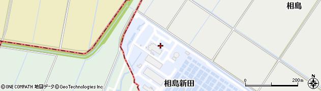 千葉県我孫子市相島新田周辺の地図
