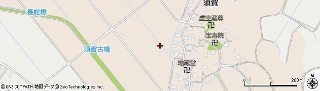 千葉県栄町(印旛郡)須賀周辺の地図