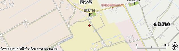 千葉県栄町(印旛郡)四ツ谷周辺の地図