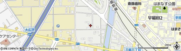 埼玉県三郷市仁蔵周辺の地図