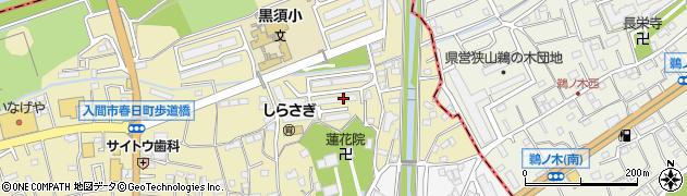 入間ビレジ周辺の地図