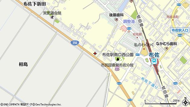 〒270-1105 千葉県我孫子市三河屋新田の地図