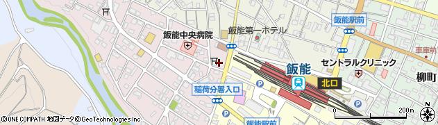 久下稲荷神社周辺の地図