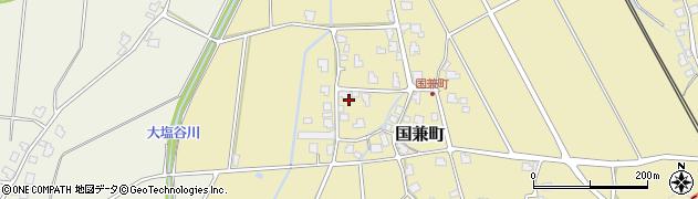 福井県越前市国兼町周辺の地図