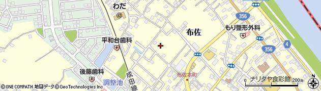 千葉県我孫子市布佐周辺の地図