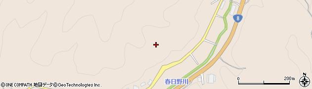 福井県越前市春日野町周辺の地図
