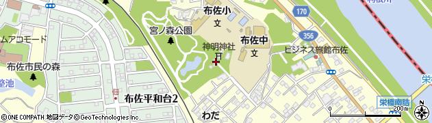 竹内神社周辺の地図