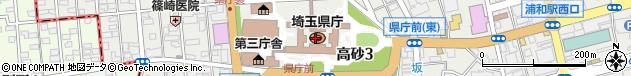 埼玉県周辺の地図